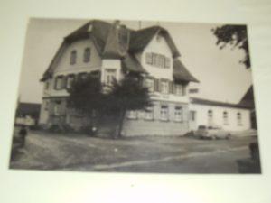 Gasthof Rose anno 1960